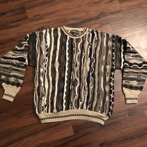Other - Croft and Barrow Coogi Style Biggie Smalls Sweater